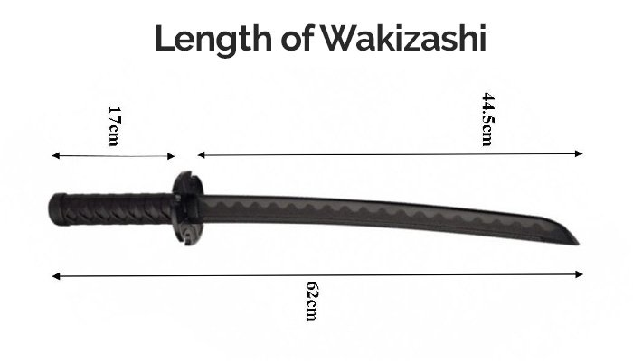 How long is a Wakizashi Sword